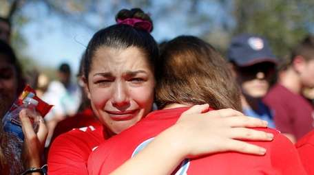 A student mourns the loss of her friend