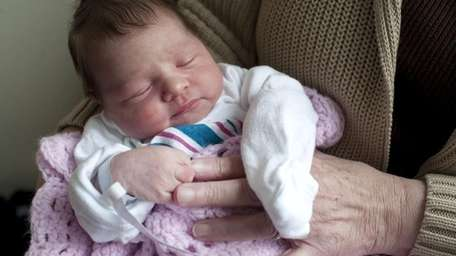 Mia Marie Ameruoso, likely the first Long Island