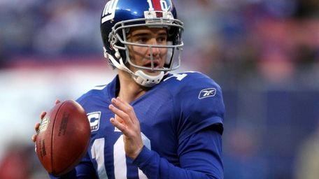 Giants quarterback Eli Manning is Neil Best's best