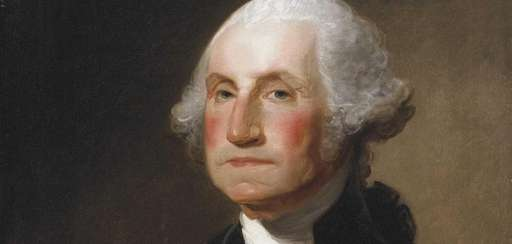 Portrait of George Washington by Gilbert Stuart, circa