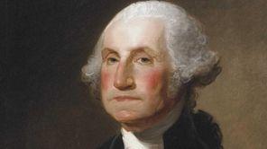 Portrait of George Washington by Gilbert Stuart, circa