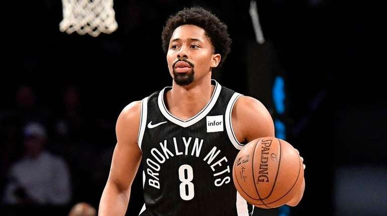 Spencer Dinwiddie of the Nets at the Barclays