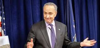 Sen. Chuck Schumer's approval rating among state voters
