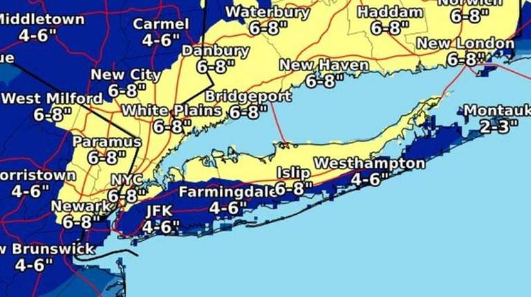 National Weather Service issues Winter Weather Advisory for Saturday night
