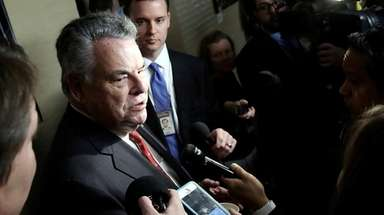 Rep. Peter King (R-Seaford), seen here Feb. 6,