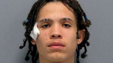 Justin Valentin, 19, of Inwood, stole items from