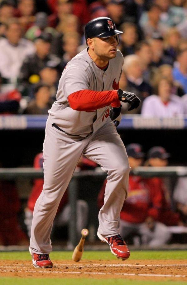 Matt Holliday #15 of the St. Louis Cardinals