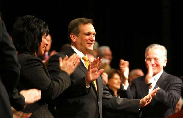 Ed Mangano is sworn in as the new