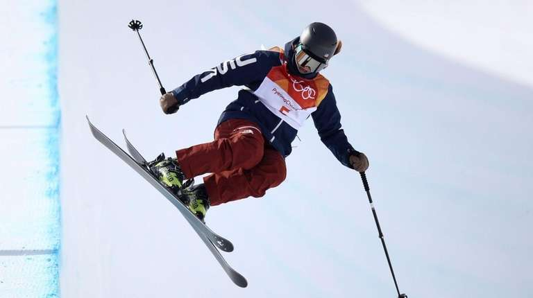 Devin Logan of the United States competes during