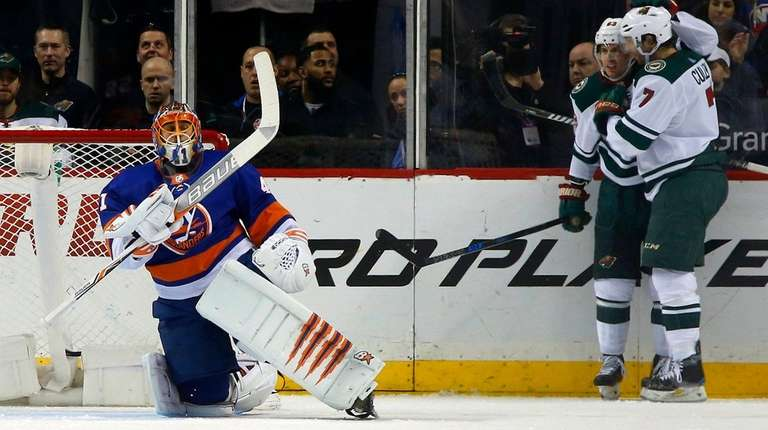 Islanders' Shutout Streak Ends Abruptly In 5-3 Loss To Wild