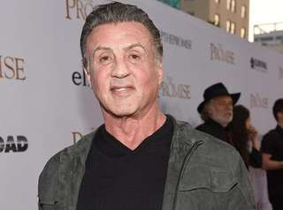 Sylvester Stallone, seen here on April 12, 2017.