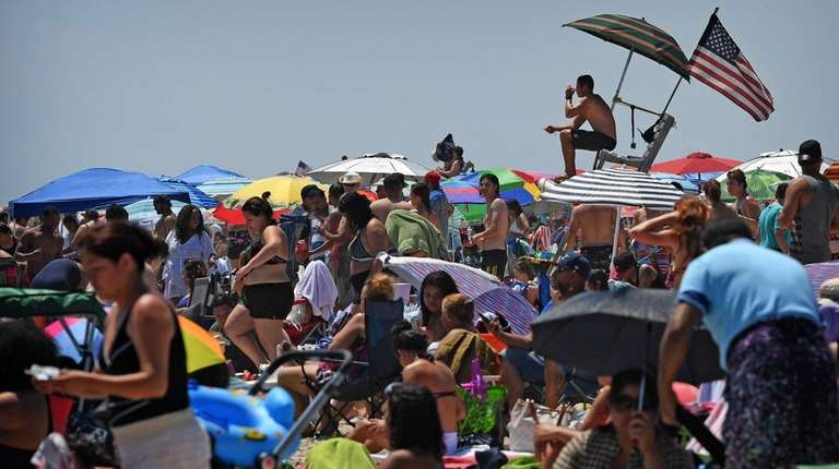 Jones Beach State Park in Wantagh drew 5.95