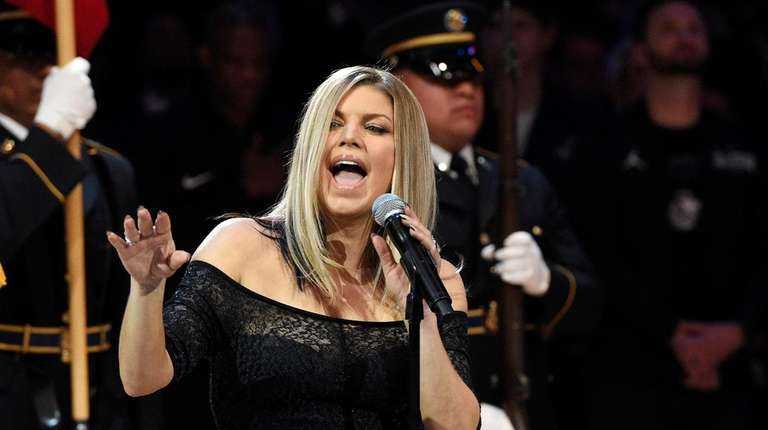 Fergie responds to freaky  anthem performance: 'I tried my best'