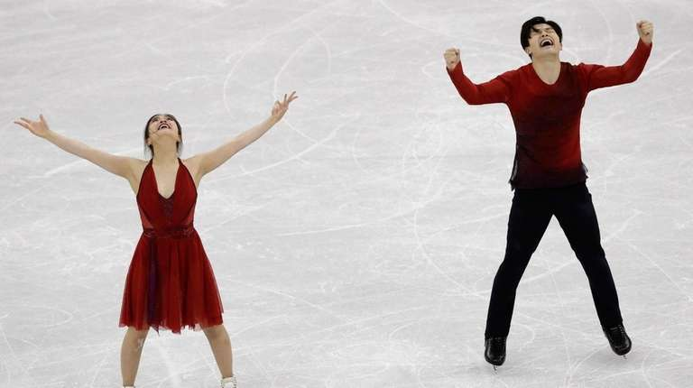 Maia Shibutani and Alex Shibutani of the United