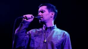 Mike Milosh of the band Rhye performs in