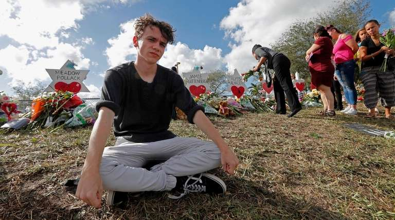 Chris Grady, a student at Marjory Stoneman Douglas