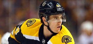 Boston Bruins defenseman Rob O'Gara on Sept. 25,