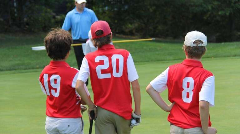Kids interested in golf can register for the