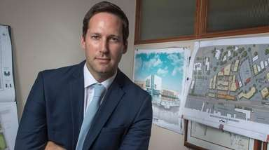 Kimco Realty Corp. chief executive Conor Flynn, at