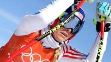 USA's Lindsey Vonn during the Alpine Skiing Women's
