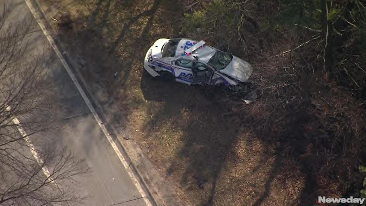A man stole a marked Suffolk County Third