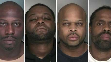 Four men intending to rob a drug dealer