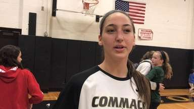 Amanda McMahon spoke about how the Commack girls