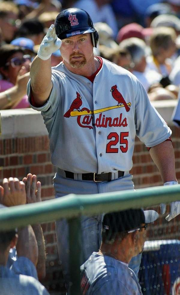 Mark McGwire finally admitted to using steroids on