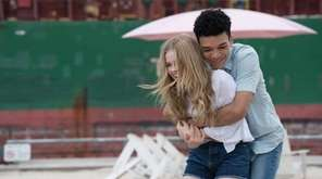 Angourie Rice and Justice Smith in