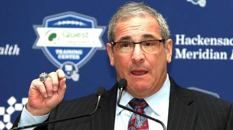 New Giants GM Dave Gettleman speaks to the