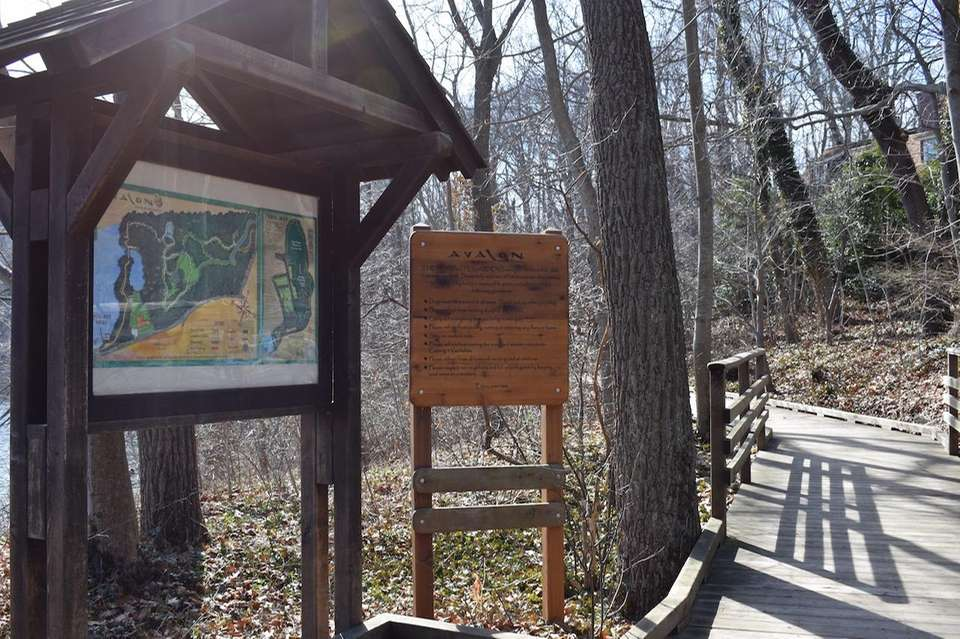 The 84-acre park and preserve is a short