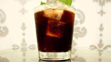 The carbonated Gaucho at Cork & Kerry in