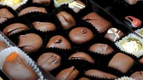 Homemade chocolates from Emile's Candies, an old-fashioned candy