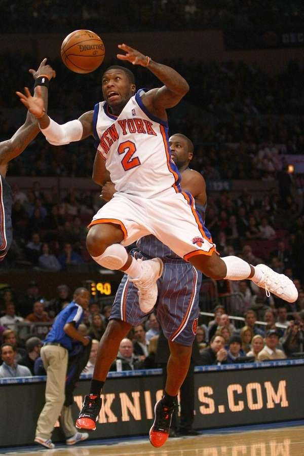 Nate Robinson #2 of the New York Knicks