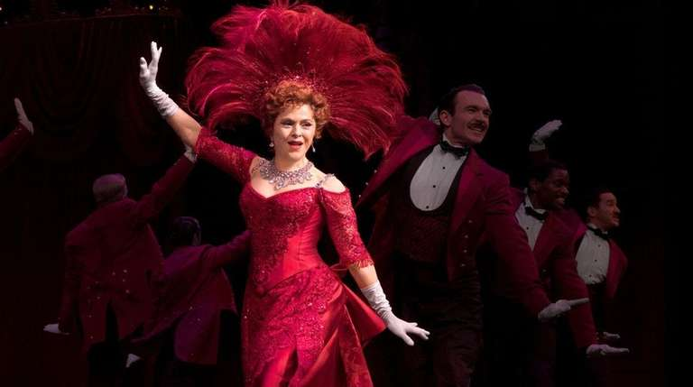 Bernadette Peters is back where she belongs, on