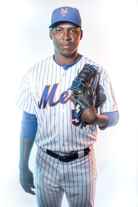NY Mets pitcher Rafael Montero, Wednesday Feb. 21,
