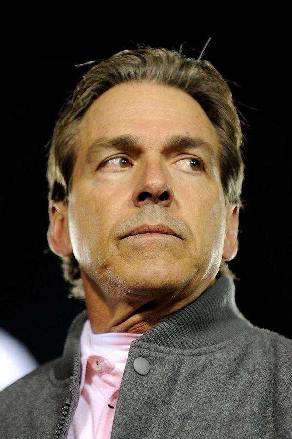 Head coach Nick Saban of the Alabama Crimson