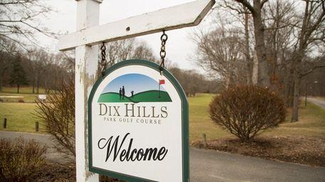 The Dix Hills Park Golf Course, seen on