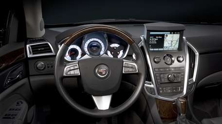 The Cadillac SRX combines a comprehensive roster of