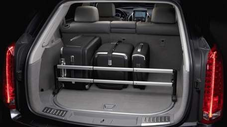 The Cadillac SRX offers multiple storage options and
