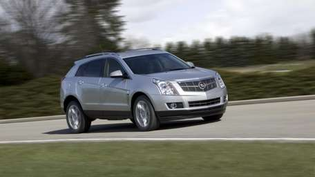 The Cadillac SRX targets the heart of the