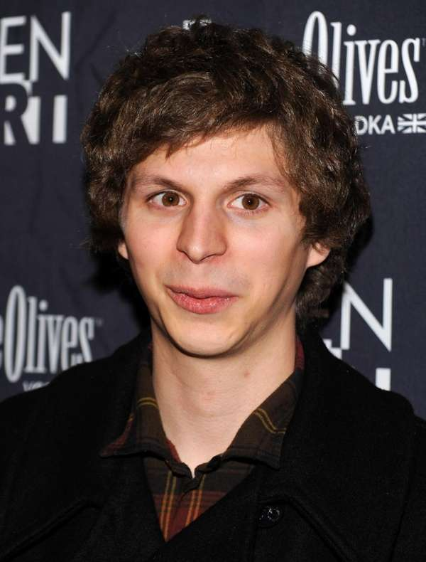 Actor Michael Cera attends the premiere of