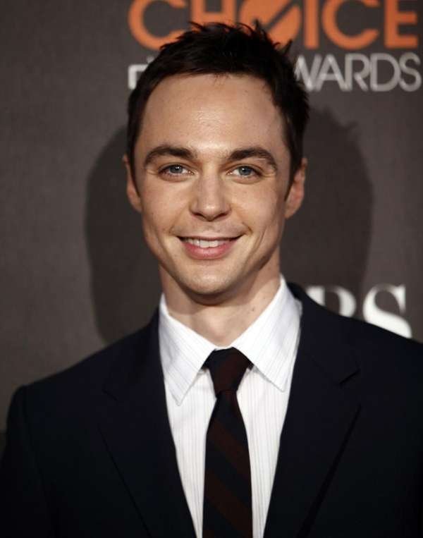 Jim Parsons arrives at the People's Choice Awards