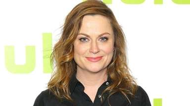 Amy Poehler at a Hulu event in New