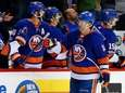 Josh Bailey of the Islanders celebrates his goal