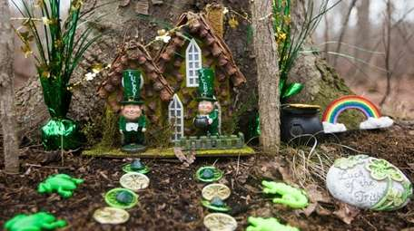 Gnome house, fairy doors pop up in Wantagh's Mill Pond Park