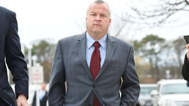 Ex-Long Island county official hit with obstruction charge