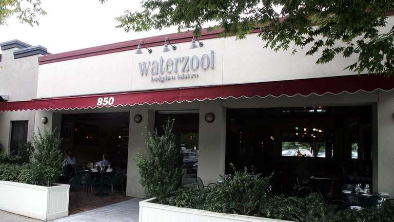 An exterior view of Waterzooi which is located