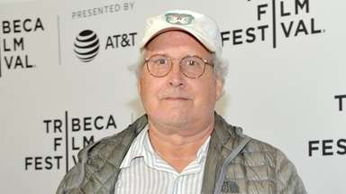 Chevy Chase attends a premiere during the Tribeca