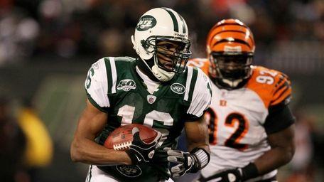 Brad Smith #16 of the New York Jets